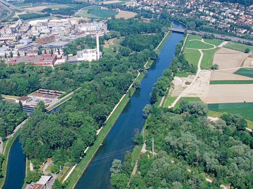 Die Limmat bei Geroldswil im Jahr 2004 ... (©Christian Göldi)