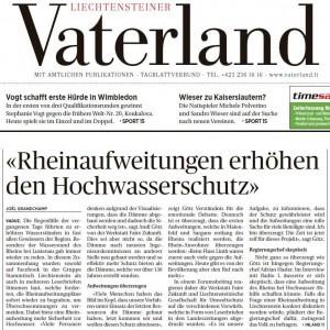 Vaterland Hochwasserschutz