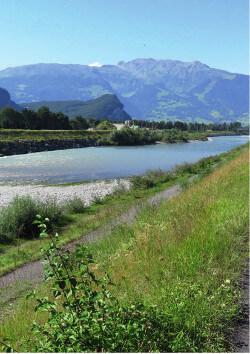 Aufweitung des Rheins bei Balzers? – Ein Diskussionsbeitrag; Balzner Neujahrsblätter 2017