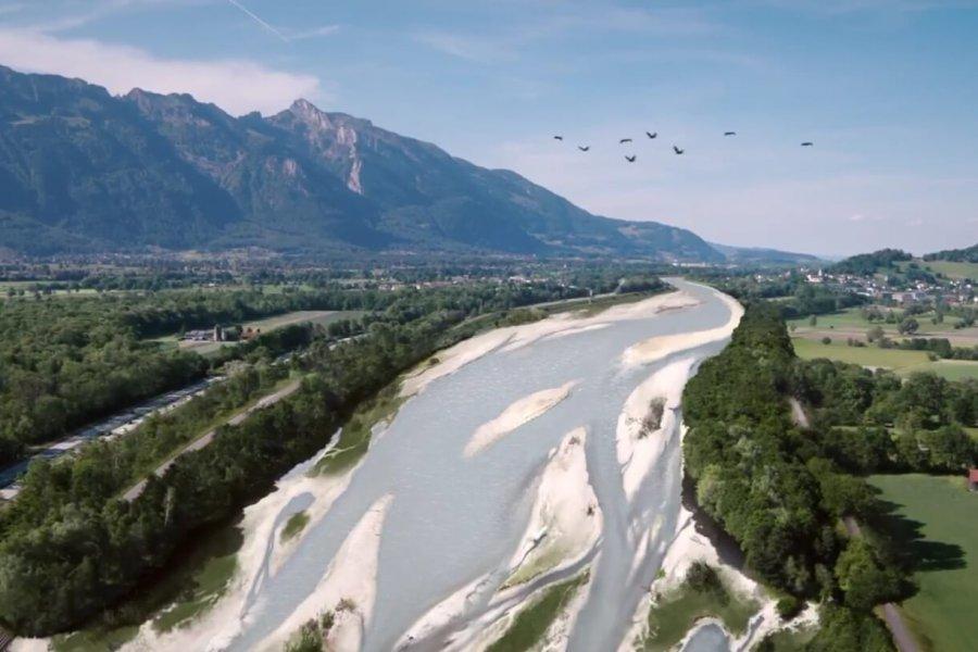 Neuer Kurzfilm über die Aufweitungen des Alpenrheins