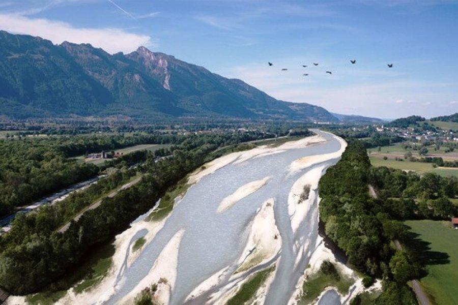 Es kommt Bewegung in die Rheinaufweitungen – auch in Liechtenstein