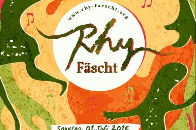 Rhy-Fäscht 2018 am 1. Juli in Balzers