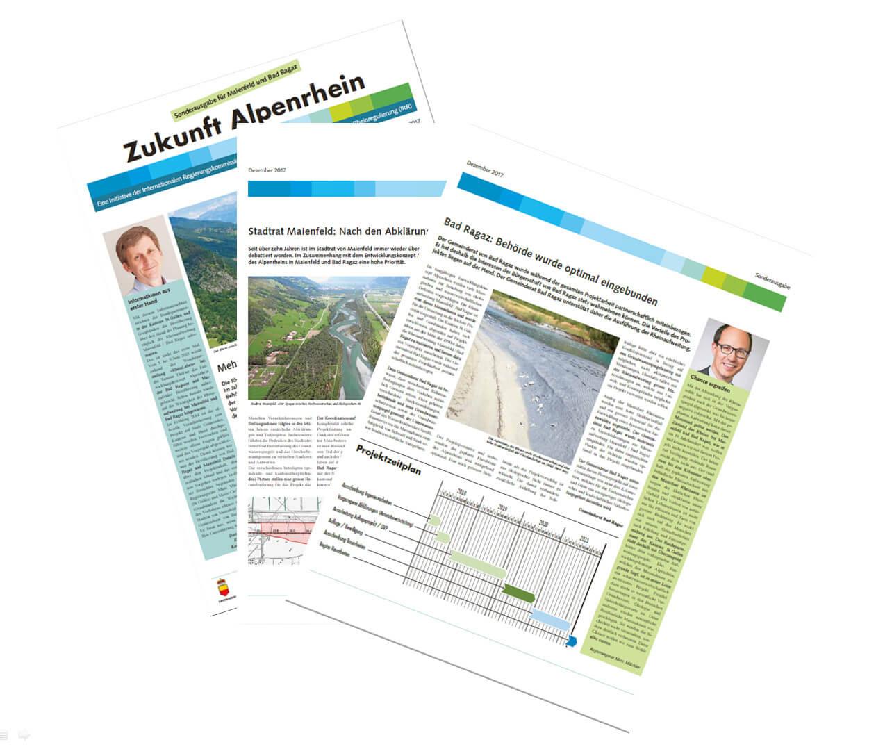 Informationsbroschüre für die Bevölkerung